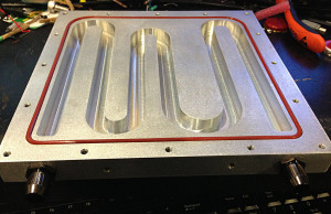 cooling plate finished